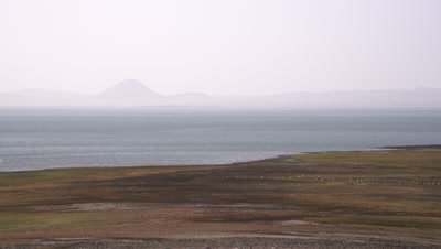 Lake Turkana, landscape pan medium , UHD 4K
