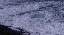 Storm Waves Breaking
