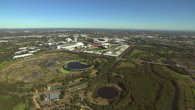Sydney Olympic Park Aerial