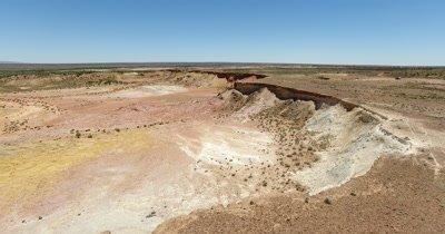 Aerial - South Australia Lyndhurst Ochre Pits