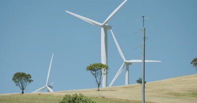Wind farm - wind turbine