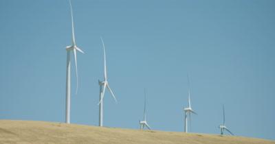 Wind farm - wind turbine