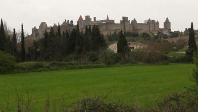 The city of Carcassonne,World heritage site.
