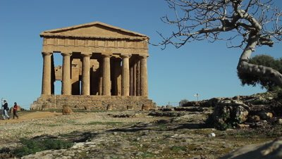 Temple of Concord in The Vally of the temples,Unesco World heritage site