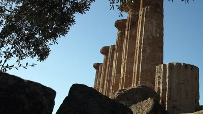 Th temple of Hercules,valley of the temples,world heritage site