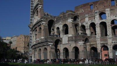 The Colosseum,the Flavian Amphitheatre in Rome