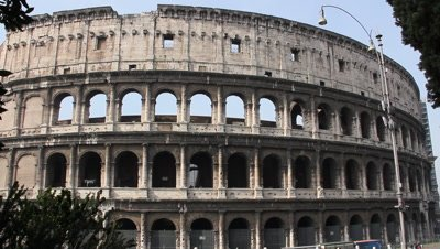 Te Roman Colosseum stands out as the most important and historic building in Italys capital