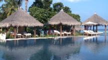 Gazebos By Swimming Pools, Four Seasons, Landaa Giraavaru, Baa Atoll, The Maldives