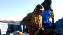 Preparing bomb for Dynamite fish bombing
