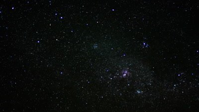 Stardust captured in Time Lapse at 00:12