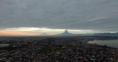 Calbuco Volcano Eruption - Puerto Montt