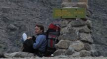 Hiking In Auyuittuq National Park, Arctic Circle, Baffin Island