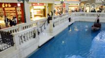 China, Macau. Macau Was Both The First & Last European Colony In China. Venetian Hotel & Casino.