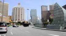 China, Macau Guangdong Sheng Province, City Of Zhuhai Shi. Macau Was Both The First & Last European Colony In China. Downtown Casino Skyline, Grand Lisboa & Wynn Hotel & Casino.