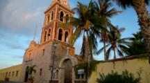 Historic Mission Loreto Established In 1697 In Loreto Mexico