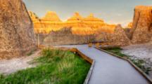 South Dakota, Badlands National Park, Northeast Entrance (Still Image Zoom)