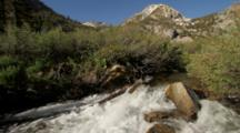 Independence Creek, Mountain Stream, Onion Valley In Eastern Sierras Near Independence, CA