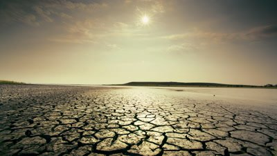 Dry,cracked earth and clouds,Alvord Desert,Oregon