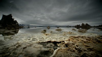 Tufa Formations on the shore of Mono Lake,California