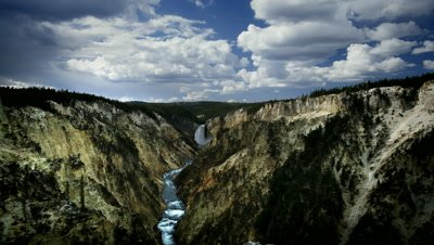 Yellowstone Falls and the Grand Canyon of the Yellowstone