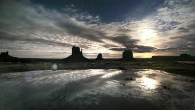 Buttes at Monument Valley,UT