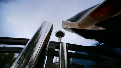 Space Needle,Low Angle,Seattle,WA