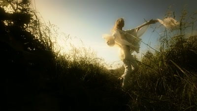 Woman enjoying the wind,Oregon