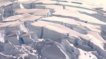 Glacier Ice Fissures & Cracks