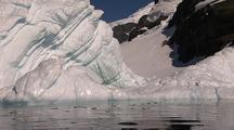 Travelling Towards Antarctic Iceberg