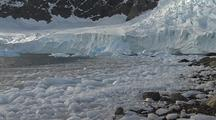 Melting Glacier Ice