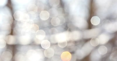 4k Abstract white bokeh shiny background