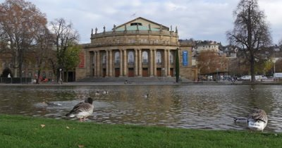 Stuttgart State Theater, It is one of a few German opera houses to survive the bombing of the World War II.
