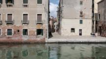 Time Lapse, Venice Canal, Old Buildings