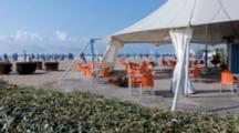 Empty Bar In Venice Beach On Lido Island