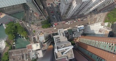 Top View of Hong Kong