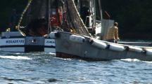 Fast Action Commercial Fishing In Alaska. Purse Seine & Work Skiff