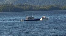 Alaska State Patrol Enforcement  Boat Stopping A Boater