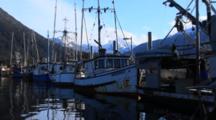 Scenic Boat Harbor-Fishing Boats