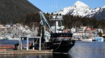Scenic Boat Harbor-  Fishing Boats