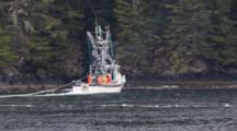 Commercial Fishing In The Rain