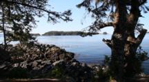 Scenic Secluded Bay Or Inlet