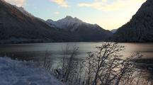 Winter Snow: Fiord.