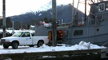 Loading A Long Line Fishing Boat (Gear)