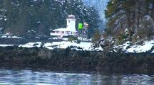 Navigation Aid, Lighthouse, And Snow