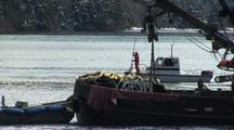 Purse Seine Boats Fishing In Alaska.
