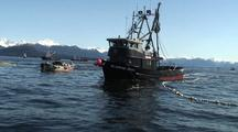 Commercial Fishing Boats Fishing