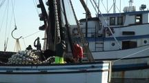 Commercial Fishermen Working A Purse Seine Net During The Sitka Sound Sac Roe Herring Fishery