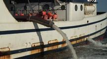 Fish Tender Pumping Water & Fish Waste