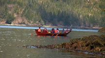 Alaska Native (Tlingit & Haida) Canoe.