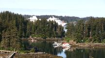 Remote Fishing Lodge